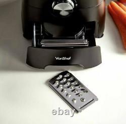 1000W Food Processor Blender Chopper Juicer Dough Blade Shredder