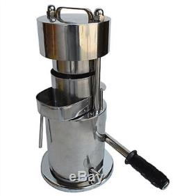 10T Hand Type Hydraulic Fruit Sugar Cane Juicer Fruit Juice Extractor wv