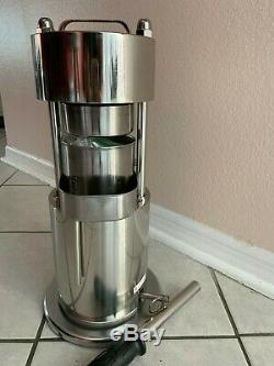 10T Stainless Steel Hand Type Hydraulic Fruit Juice/Sugar Cane Juicer Extractor