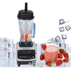 110V High Performance Commercial Fruit Smoothie Ice Blender Juice Mixer Juicer