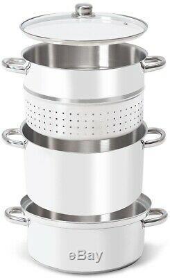 11 Quart Stainless Steel Fruit Juicer Steamer Vegetables Juice Extractor