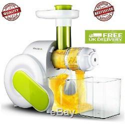 1/3electriQ Slow Masticating Juicer Fruit Vegetable Cold Press Juicer Juice