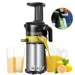 200W Slow Masticating Juicer Extractor Fruit Vegs Cold Press Juicer Machine 220V