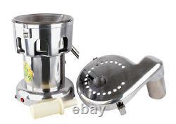 220V 550W 100-120kg/hr Commercial Fruit Power Juicer Juice Extractor WF-A2000