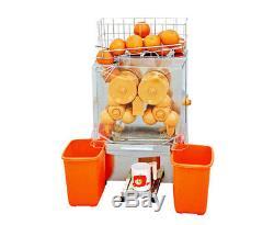220V Commercial Orange Juice Squeezer Juicer Extractor Lemon Fruit Squeezer