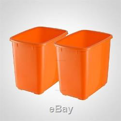 220V Commercial Orange Juice Squeezer Juicer Extractor Lemon Fruit Squeezer an