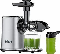 2-Speed Cold Press Slow Masticating Juicer Easy to Clean & High Juice Yield