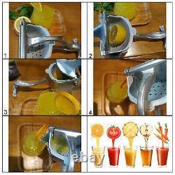 30 sets Manual Juicer Hand Juice Press Squeezer Fruit Juicer Extractor Aluminum