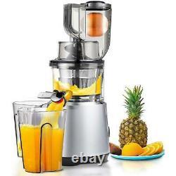 360 Degree Automatic Multi-function Household Fruit Large-caliber Juice Machine