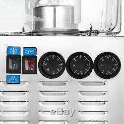 54L Hot Cold Drink Juice Beverage Dispenser Stainless Fruit Juicer 14.25Gal