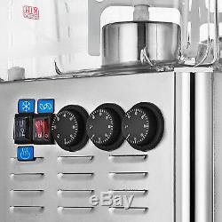 54 L Hot Cold Drink Juice Beverage Dispenser Fruit Juicer 3 Tanks 14.25Gal