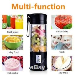 5XPortable Mini Travel Fruit USB Juicer Cup, Personal Small Electric Juice M2Y7