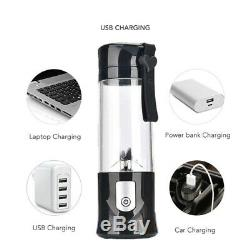 5XPortable Mini Travel Fruit USB Juicer Cup, Personal Small Electric Juice M8R1