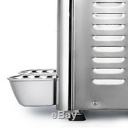 9.5Gal Juice Beverage Dispenser Stainless Fruit Juicer Cold Hot Drink 18L x 2