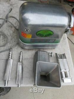 Angel Extractor twin gear stainless steel juicer for fruit and vegetable juice