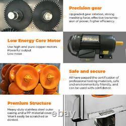 Automatic Commercial Squeezer Electric Juicer Extractor Citrus Fruit Juice Press