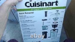 BRAND NEW Cuisinart CJE-1000 1 Stainless Steel Juice Extractor