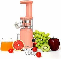 Blamdoil Compact Slow Juicer Masticating Extractor Cold Press fruits and veggie
