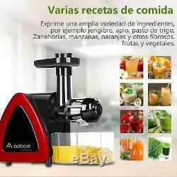Blender Pressed in Cold Aobosi Blender Fruits Vegetables Extractor Juice