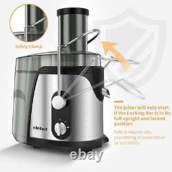 Blenders for Vegetables and Fruits with 2 Speed 700-800W Wide Mouth 2 15/16in