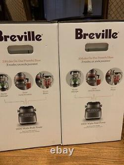 Brand New Breville 3X Bluicer BJB615SHY1BUS1