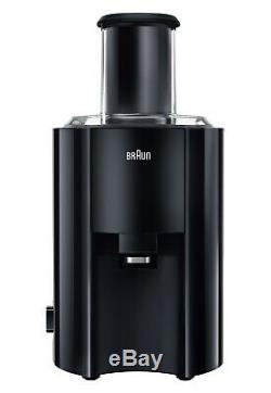 Braun J300 Spin Whole Fruit Juicer 800w Fast Juicing 1.25L 2 Speed