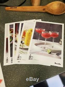 Breville 3X Bluicer Pro- Used one time, original box, all manuals and recipes