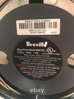 Breville 800CPXL Citrus Press Pro Motorized Die Cast Stainless Steel