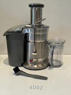 Breville 800JEXL/B Juice Fountain Elite 1000W Die-cast Metal Juice Extractor