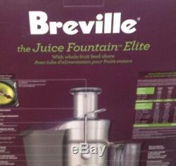 Breville 800JEXL Juice Fountain Elite 1000-Watt Juice Extractor Brand New Sealed
