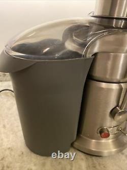 Breville 800JEXL Juice Fountain Elite 1000-Watt Juicer -Brushed Stainless Steel