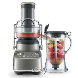 Breville BJB615SHY1BUS1 the 3X Bluicer Blender Plus Juice Extractor 110 Volts