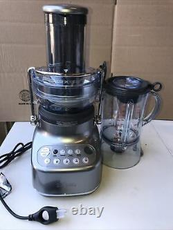 Breville BJB615SHY1BUS1 the 3X Bluicer Blender Plus Juice Extractor 110v (READ)