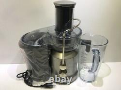 Breville BJE430SIL Electric Pitcher Juice Fountain Cold With Spin Technology