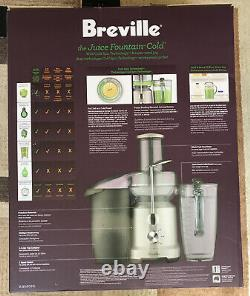 Breville BJE430SIL The Juice Fountain Cold