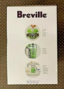 Breville BJE430 SILUSC Juice Fountain Cold Juicer (NEW IN THE BOX) Free Shipping