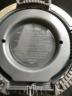 Breville BJE510XL Multi-Speed Juice Fountain Professional Fruit/Vegetable Juicer