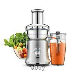 Breville BJE830BSS Juice Founatin Cold XL Centrifugal Juicer, Brushed Stainless