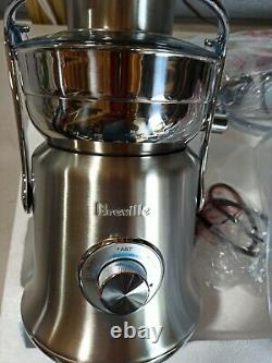 Breville BJE830 The Juice Fountain Cold XL Cold Press Juicer Brushed Stainless