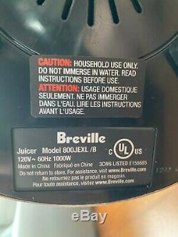Breville Fountain Elite 1000W Electric Juicer 800JEXL Top of the line Juicer