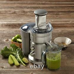 Breville Juice Fountain Duo Juice & Purée 5 Speed Commercial Quality Juicer