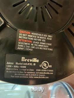 Breville The Juice Fountain Elite 800JEXL Brushed Stainless Steel