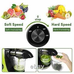 CIRAGO Slow Juicer Masticating Juicer Machine, Extractor Two Speed, Extra Quiet