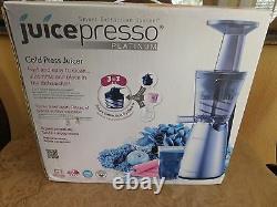 COWAY Juicepresso Platinum Cold Press Juicer CJP-03SEU