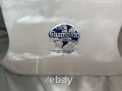 Champion 1/3hp Heavy Duty Juicer Fruit & Vegetables 115v Model G5-NG-853S USA