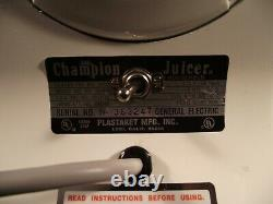 Champion World's Finest Juicer G5-NG-853S Heavy Duty Commercial Quality