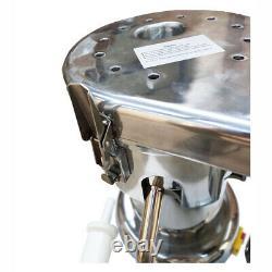 Cold Press Juicer Machine Fruit Vegetable Juice Extractor Maker Stainless Steel