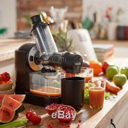 Cold Press Premium Juicer Large Feed Tube Slow Press Fruit Juice