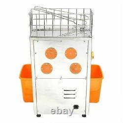 Commercial Electric Orange Squeezer Juice Fruit Maker Juicer Press Machine New