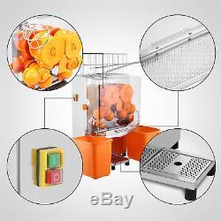 Commercial Electric Orange Squeezer Juice Stainless Lemon Citrus Fruit Maker